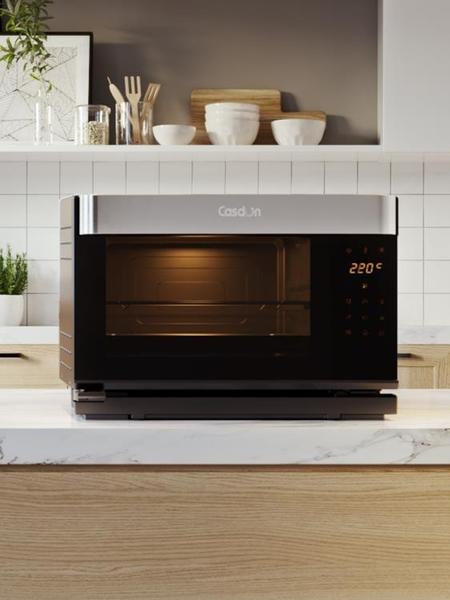 烤箱 CASDON/凱度 ST28D-X7臺式電蒸烤箱家用 多功能二合一體機 電蒸箱 WJ【米家科技】
