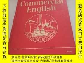 二手書博民逛書店First罕見Course In Commercial englishY1613