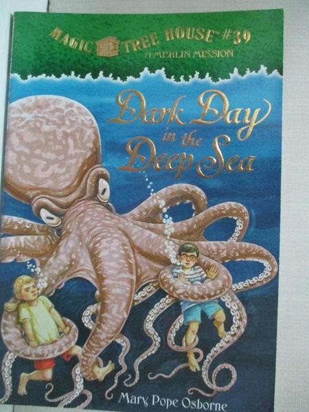 【書寶二手書T1/原文小說_A2X】Dark Day in the Deep Sea_Osborne