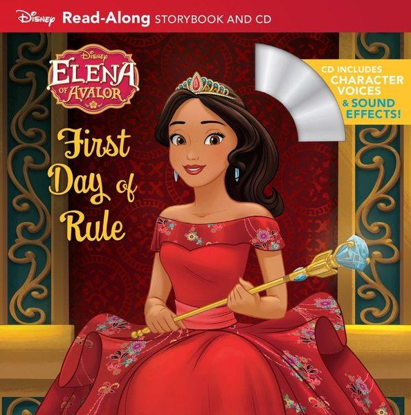 【麥克書店】ELENA OF AVALOR:FIRST DAY OF RULE READ ALONG STORYBOOK/聽迪士尼說故事