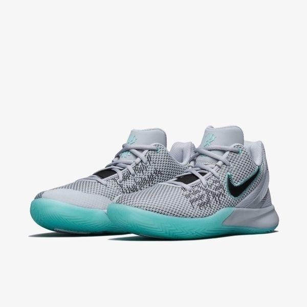 ▲Nike 籃球鞋 Kyrie Flytrap II EP 灰 綠 果凍底 二代 男鞋 運動鞋  AO4438-003