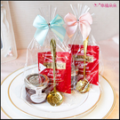 皇家認證唐寧英倫茶包+英國Tiptree果醬+玫瑰湯匙禮物包--下午茶/迎賓禮/禮贈品/婚禮小物/幸福朵朵