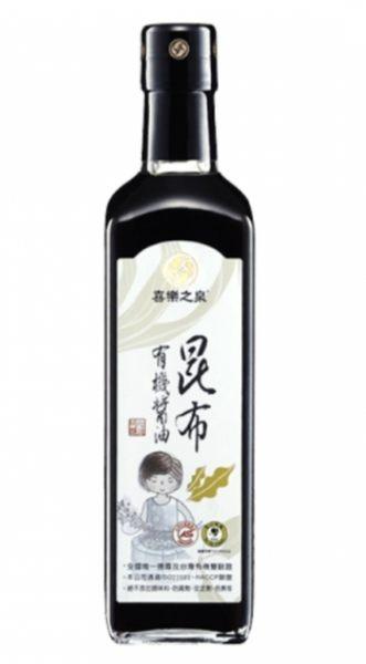 【喜樂之泉】有機昆布醬油500ml -易碎品 不宜超商取貨