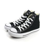 CONVERSE ALL STAR HIGH 帆布鞋 基本款 高筒 情侶鞋 經典 必備 推薦款  黑色 男女鞋 M9160C no986