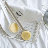 日式長柄洗澡刷沐浴刷搓澡巾軟毛搓泥搓背