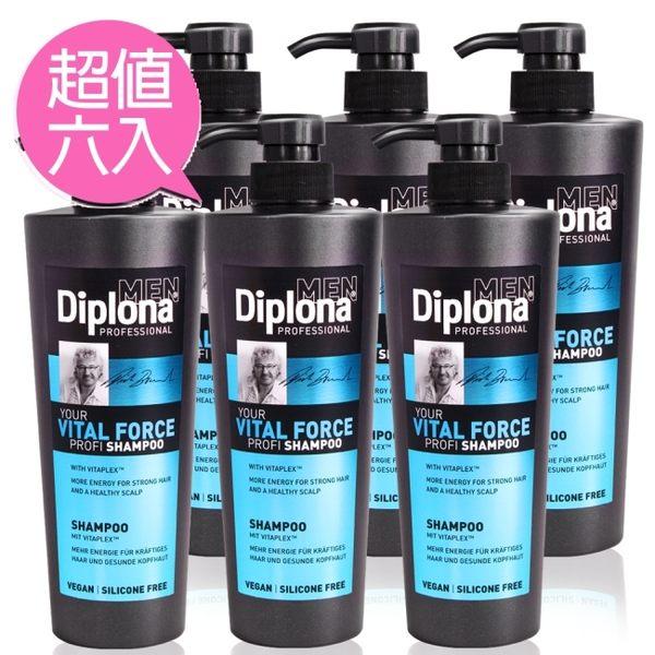 德國Diplona Profi專業級機能活力洗髮精600ml六入