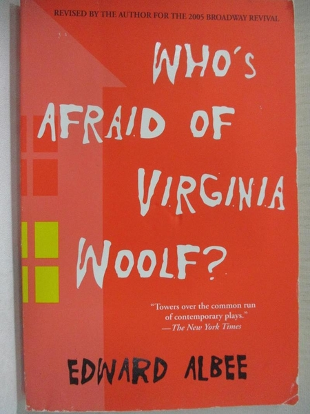 【書寶二手書T1/原文書_CXH】Who s Afraid of Virginia Woolf?_Edward Albee
