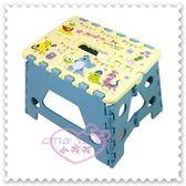 ♥小花花日本精品♥Hello Kitty 迪士尼怪獸電力公司折疊椅摺疊凳小椅凳方便攜帶(預購)