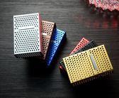 煙盒20支裝鋁合金超薄金屬創意男士軟硬通用便攜煙盒子全館免運!