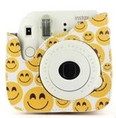 相機包 富士instax拍立得相機包 mini8/8 /9笑臉合身包相機保護套 相機包 亞斯藍