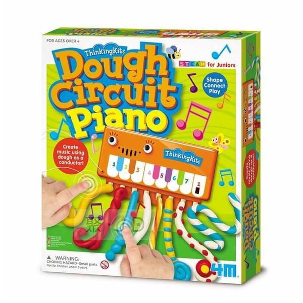 【4M】美勞創作系列 - 00-04916 演奏黏土鋼琴 Dough Circuit Piano