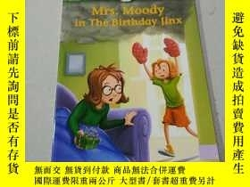 二手書博民逛書店Mrs罕見Moody in the Birthday jinx: