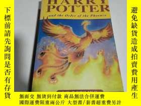 二手書博民逛書店HARRY罕見POTTER and the order of t