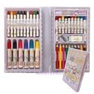 asdfkitty*日本san-x角落生物睡衣派對繪畫工具組(彩色筆.蠟筆.色鉛筆.橡皮擦.削鉛筆器)