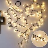 房間臥室裝飾led樹枝藤條彩燈閃燈串燈滿天星星圓球店鋪佈置婚慶ATF 雙12購物節