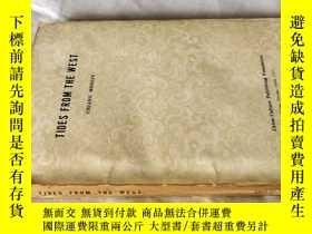 二手書博民逛書店西潮(蔣夢麟自傳,1957年)TIDES罕見FROM THE WEST ——英文原版Y253966 Chian