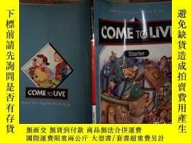二手書博民逛書店come罕見to live starterY206421