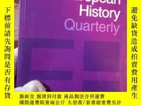 二手書博民逛書店European罕見History Quarterly Volu