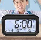鬧鐘 電子鬧鐘學生用臥室床頭夜光靜音多功能小智能創意個性兒童【快速出貨八折鉅惠】