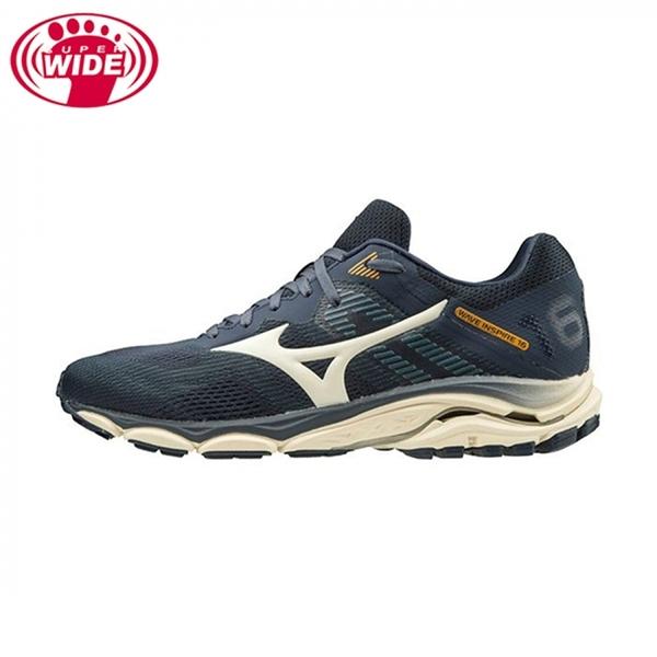 Mizuno Wave Inspire 16 SW [J1GC204541] 男 慢跑鞋 運動 支撐 吸震避震 穩定 藍
