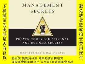 二手書博民逛書店Warren罕見Buffett s Management SecretsY256260 Mary Buffet