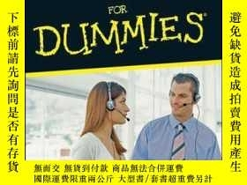 二手書博民逛書店Telephone罕見Sales For DummiesY410016 Dirk Zeller ISBN:9