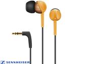 森海塞爾 SENNHEISER CX215 耳道式耳機(橘色)