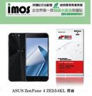 【現貨】ASUS ZenFone 4 ZE554KL  2017版 5.5吋 (背面) iMOS 3SAS 防潑水 防指紋 疏油疏水 螢幕保護貼