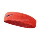 Nike 頭帶 Swoosh HeadBand 橘 藍 男女款 勾勾 棉 毛巾布 髮帶 【ACS】 N000154480-4OS