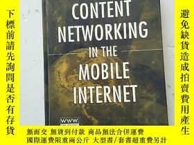 二手書博民逛書店Content罕見Networking In The Mobil