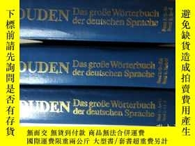 二手書博民逛書店罕見DUDEN(1-6,3冊全)Y20331 DUDEN DUD