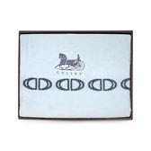 CELINE經典馬車LOGO保暖大毛毯禮盒(水藍色)084006-1