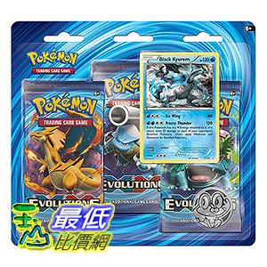 [美國直購] ThinkGeek Pokemon TCG: XY-Evolutions Three Booster Blister 神奇寶貝 精靈寶可夢周邊