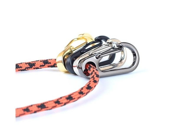 迷你彈簧掛扣【SG423】 戶外隨身小工具 鑰匙扣圈環 D型登山EDC簡潔快掛扣