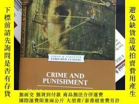 二手書博民逛書店Crime罕見and punishment 罪與罰Y272476