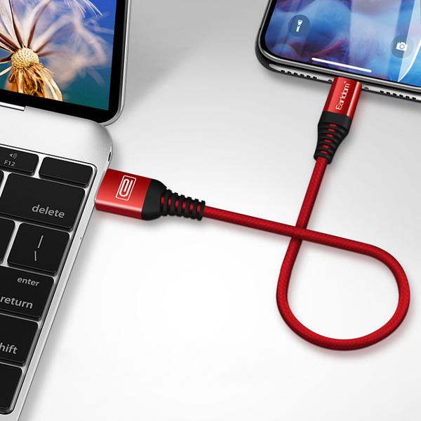 伯爵編織數據線 20cm 短線 快速充電線 適用 Micro USB 快充線 傳輸線