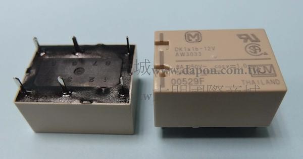 *大朋電子商城*Panasonic DK1A1B-12V 繼電器Relay(5入)