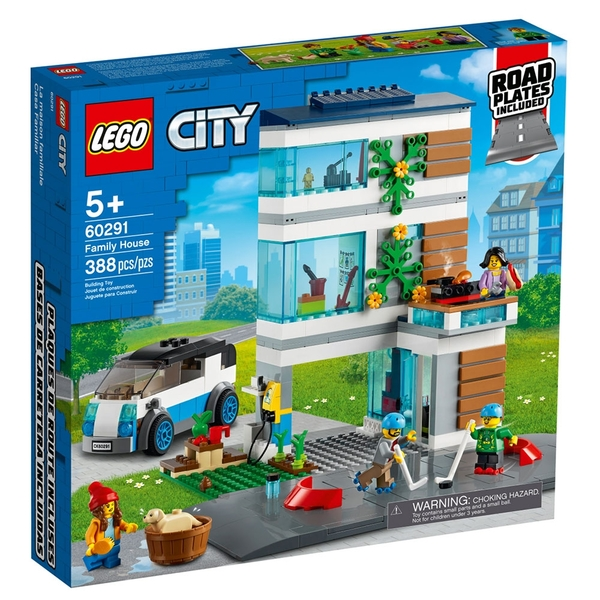 LEGO樂高 City 城市系列 城市住家_LG60291