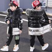 兒童棉衣 兒童裝男童2019新款羽絨棉服中大童冬裝中長款棉襖洋氣外套潮 【快速出貨】