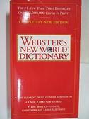 【書寶二手書T6/字典_A95】Webster s New World Dictionary