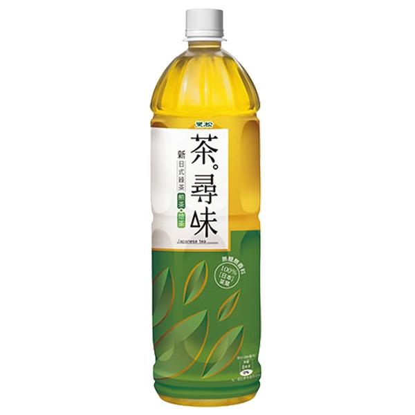 黑松 茶尋味 新日式綠茶(無糖) 1230ml
