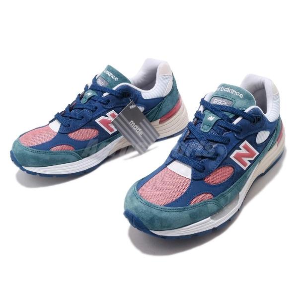 New Balance 992 美製 麂皮 藍 粉紅 彩色 USA 男鞋 女鞋 【ACS】 M992NTD