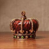 復古創意歐式皇冠擺件家居裝飾品客廳咖啡館酒吧擺設櫥窗攝影道具【折現卷+85折】