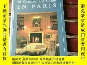 二手書博民逛書店HOTELS罕見OF CHARACTER AND CHARM IN PARISY349201 见图 见图