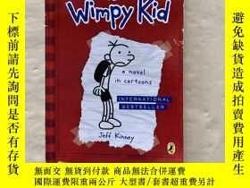 二手書博民逛書店Diary罕見Of A Wimpy Kid The Long Haul 一個懦弱的孩子的日記Y292071 J