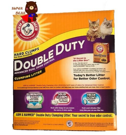 預購 貓砂 Arm&Hammer 鐵鎚牌加強除臭貓砂 18.14公斤 40磅 鐵鎚牌貓砂 好市多貓砂 限宅配