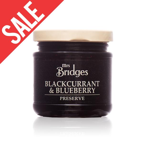 舊包裝【MRS. BRIDGES】英橋夫人黑加侖藍莓果醬 (小)113g 效期2020/05
