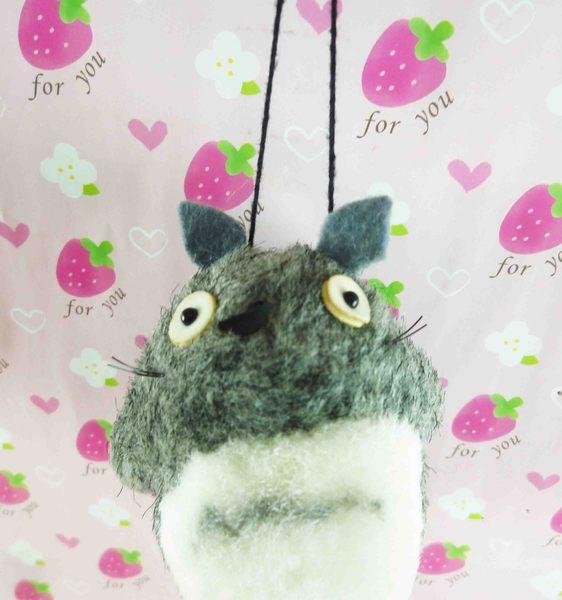 【震撼精品百貨】となりのトトロTotoro_造型吊飾-深灰龍貓