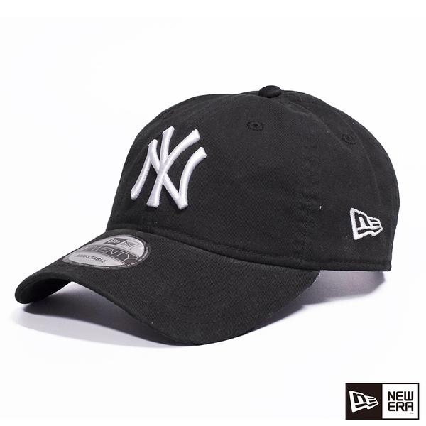 NEW ERA 9TWENTY 920  logo 洋基 黑/白 棒球帽