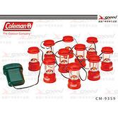 【速捷戶外露營】【美國Coleman】CM-9359J LED聖誕裝飾燈/小夜燈/營燈/氣氛燈/裝飾燈(10入)